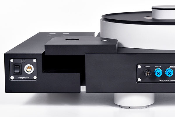 Armboard From Bergmann Audio, Mounted On Bergmann Turntable System