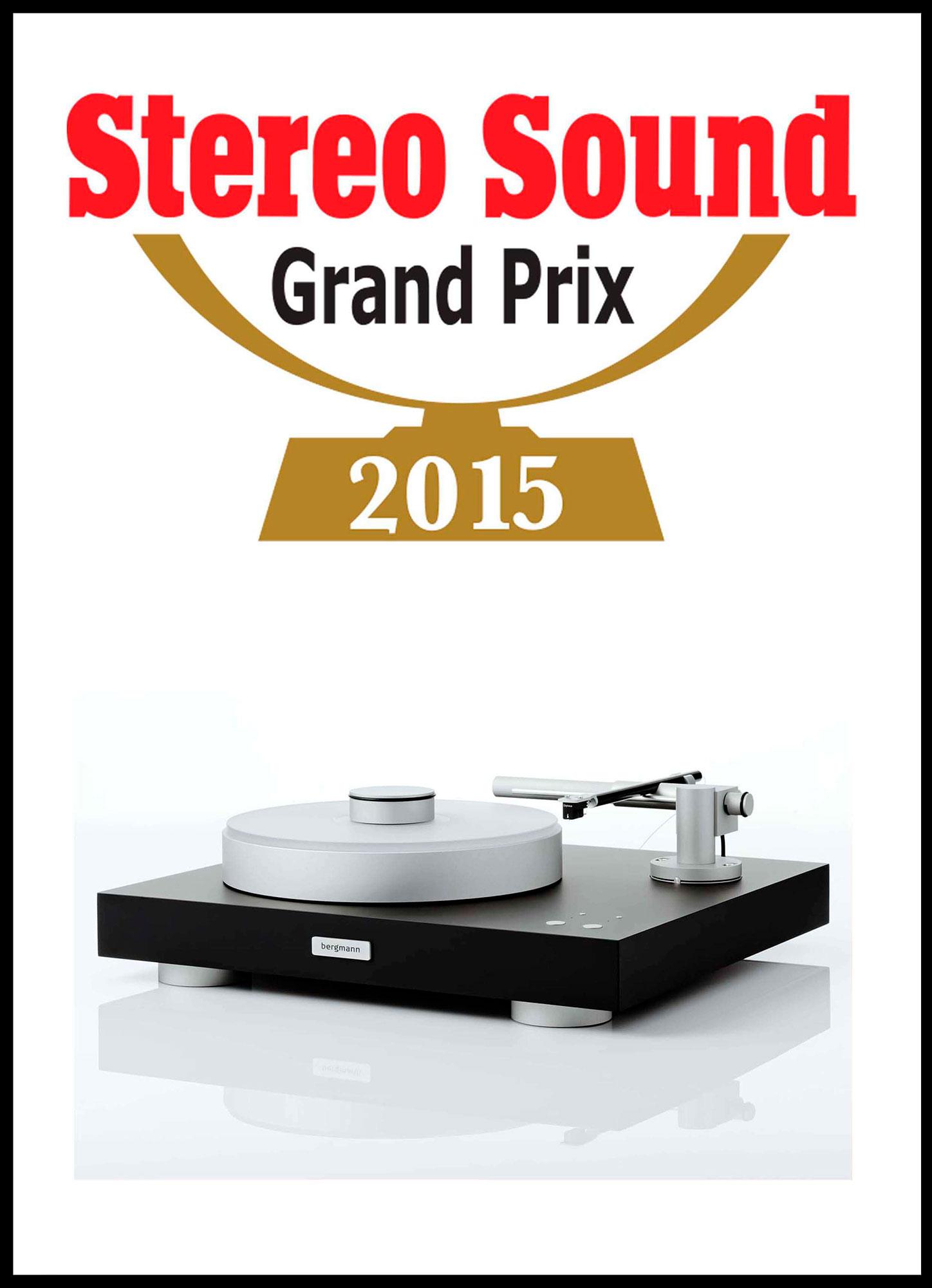 Award 2015 StereoSound.GrandPrix