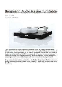 review image Audiophilia-2014._Magne_Turntable