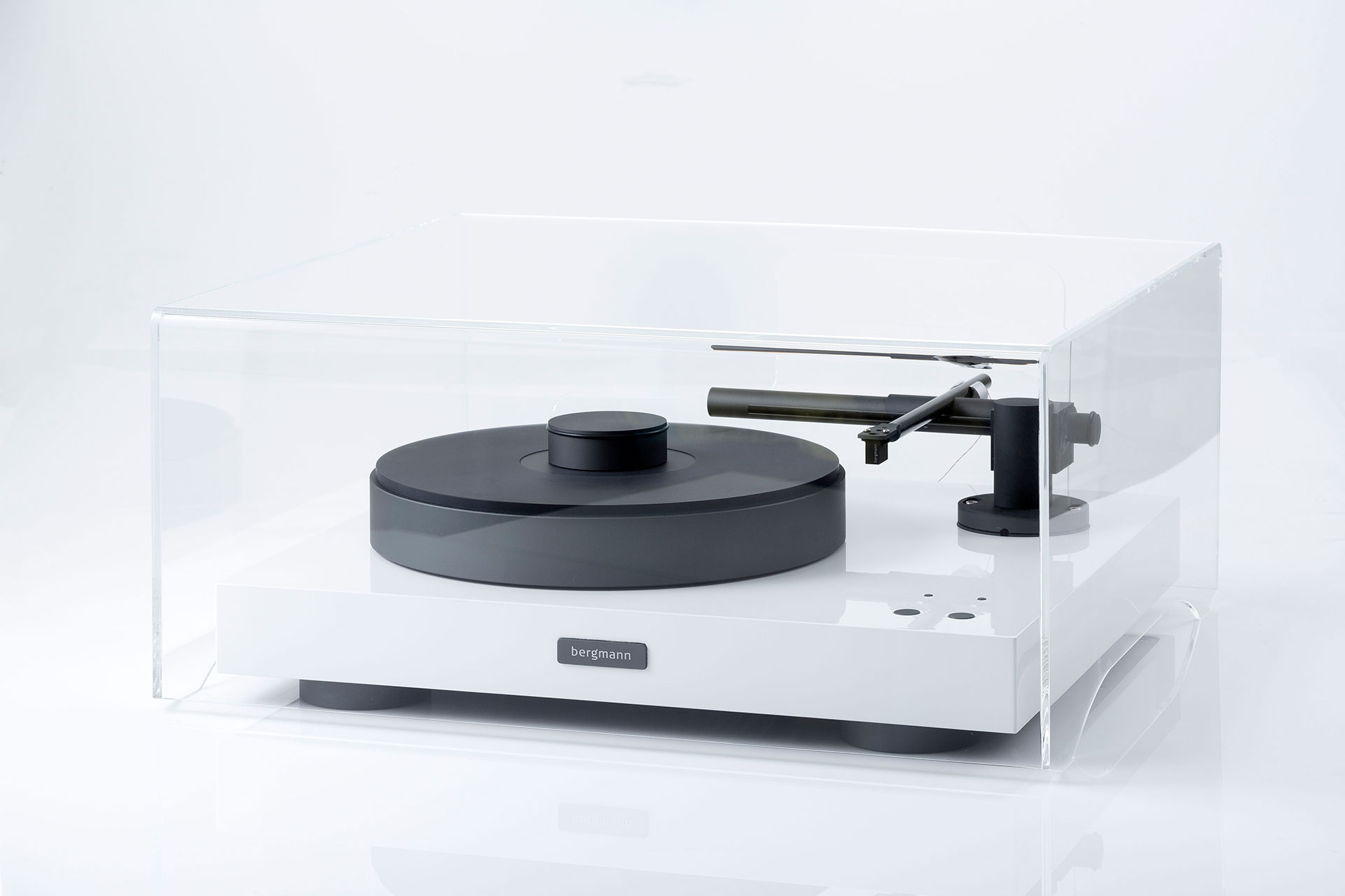 Full Acrylic Dustcover For Bergmann Audio Turntables