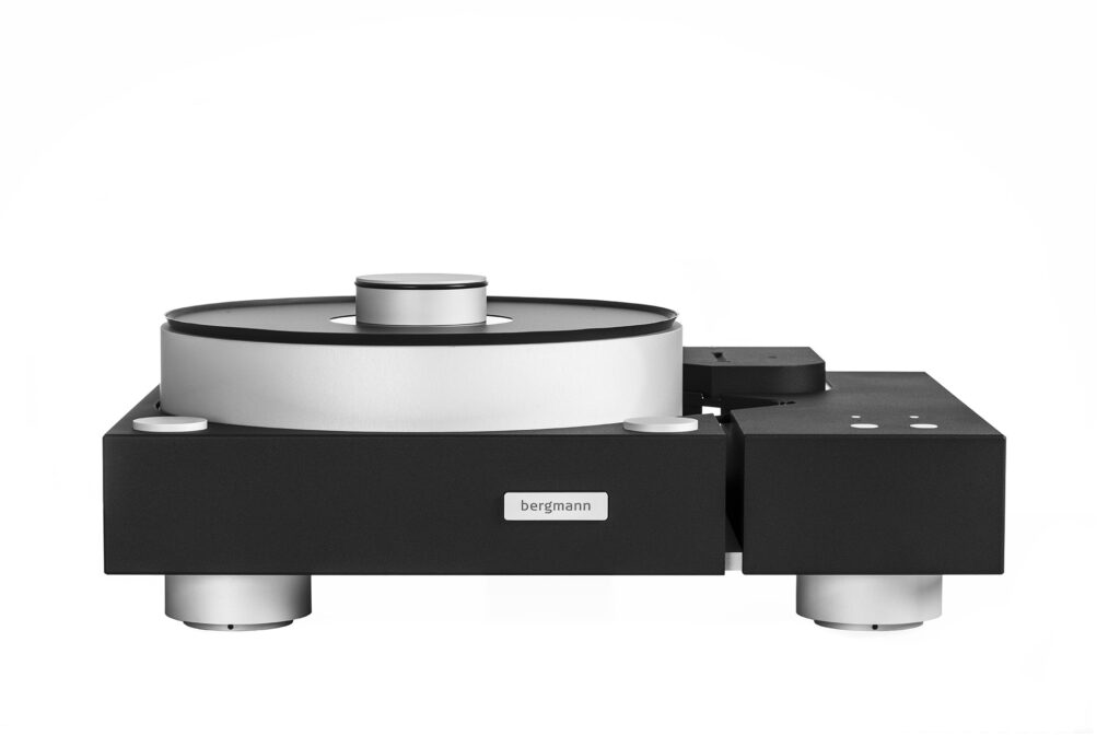 Galder-turntable-system from Bergmann - black edition